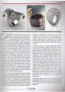 NEW JEWELLER MAGAZINE,سید محمد مرتضوی,طراحی طلا و جواهرات