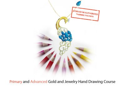 Primary and advanced gold and jewelry hand drawing course