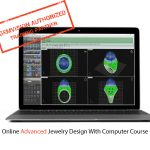 ONLINE Advanced jewelry design with computer