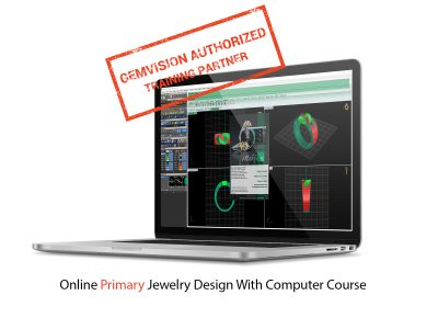 Online Primary jewelry design with computer course