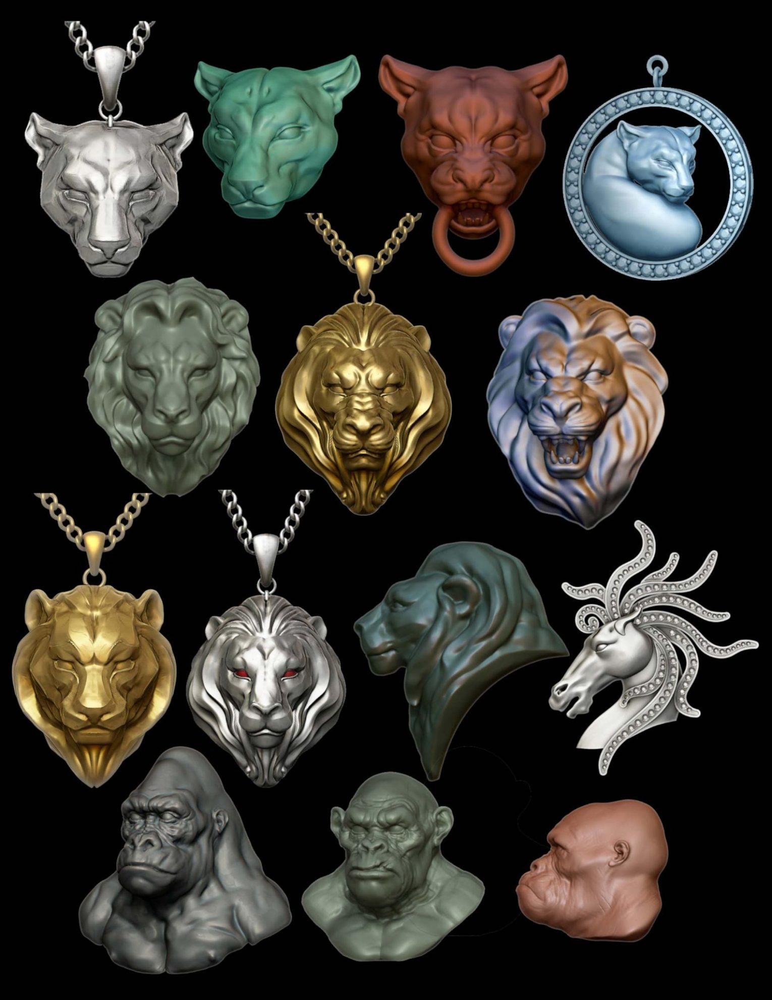 طراحی جواهرات با زیبراش, فیگور سازی با زیبراش,طراحی طلا با زیبراش,نرم افزار زیبراش