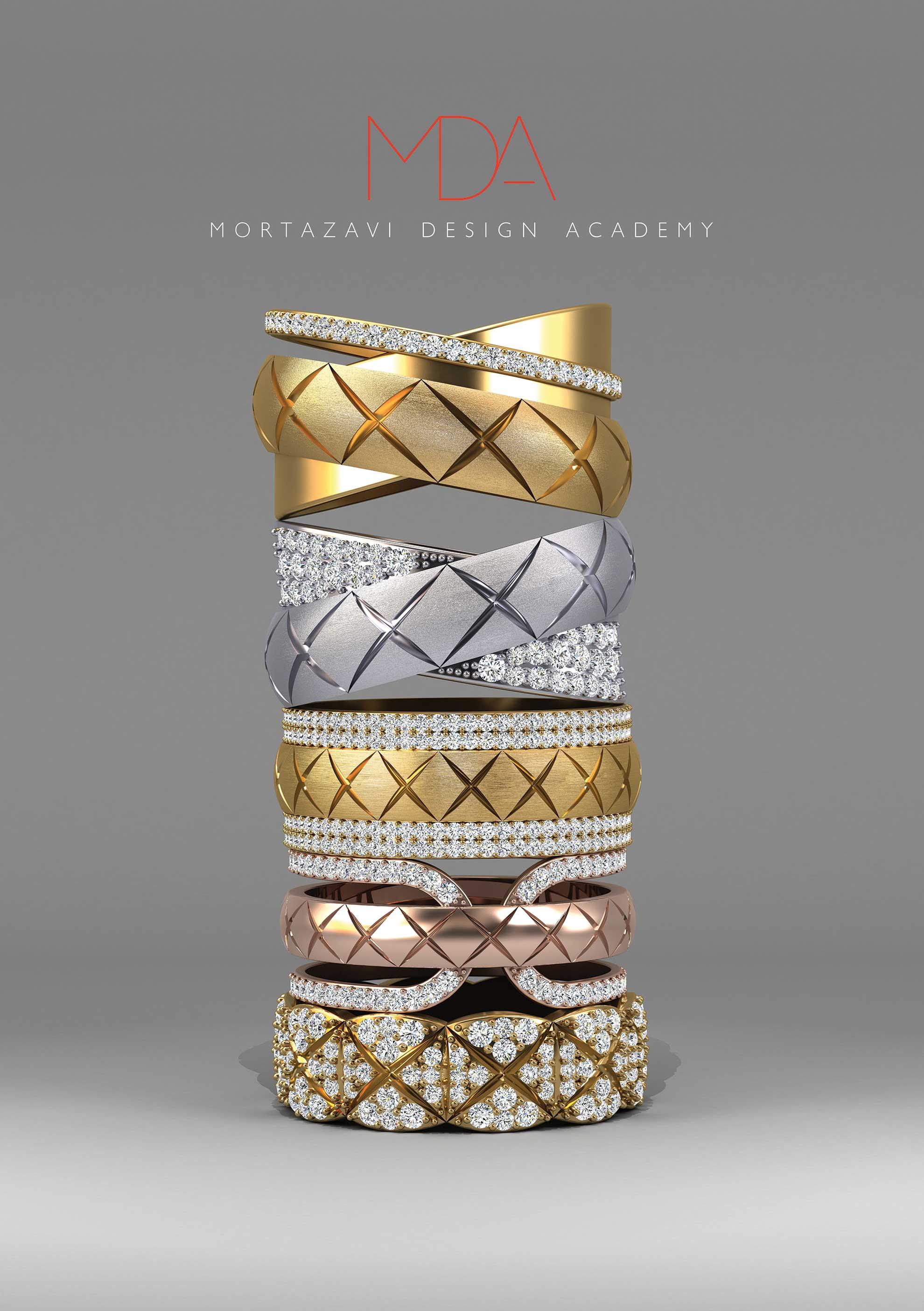 طراحی و ایده پردازی طلا و جواهر