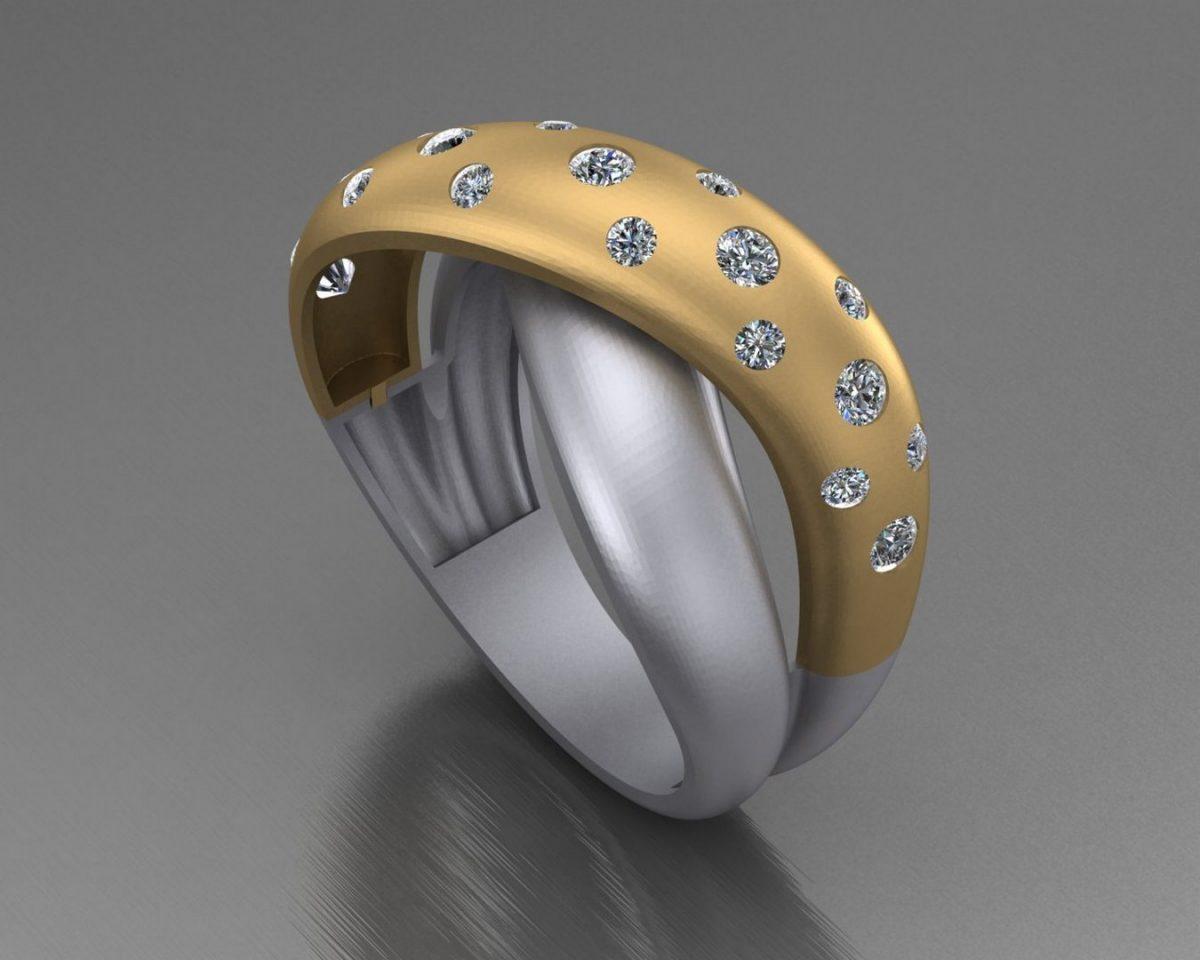 طراحی طلا و جواهر با ماتریکس