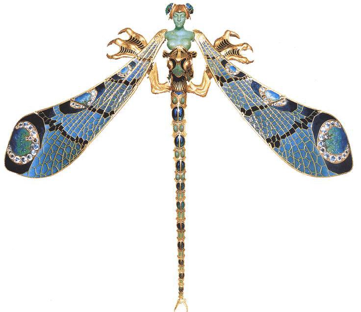 Art Nouveau Jewelry,سبک Art Nouveau,سبک آرت نوو,جواهرات Art Nouveau