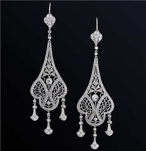 Edwardian Jewelry,سبک های طراحی جواهرات,سبک جواهرات