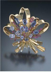 Retro Jewelry,سبک retro,سبک های طراحی جواهرات