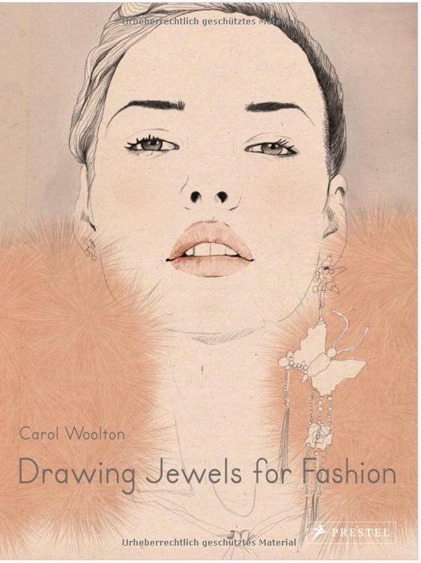 کتاب آموزش طراحی دستی جواهرات, Drawing Jewels for Fashion