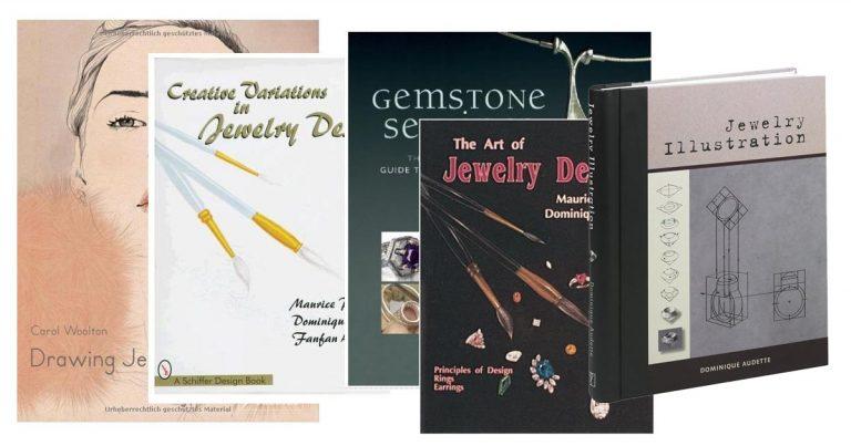 کتاب آموزش طراحی دستی جواهرات, معرفی کتاب طراحی طلا و جواهر