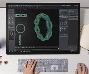 آموزش طراحی طلا و جواهر با رایانه